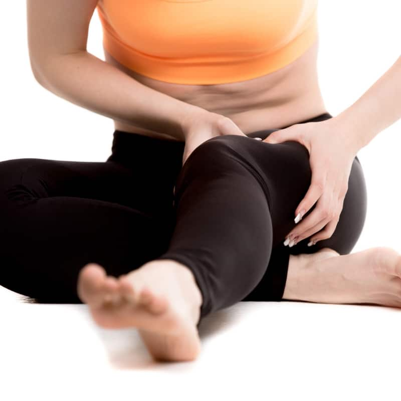 healing hip and knee pain